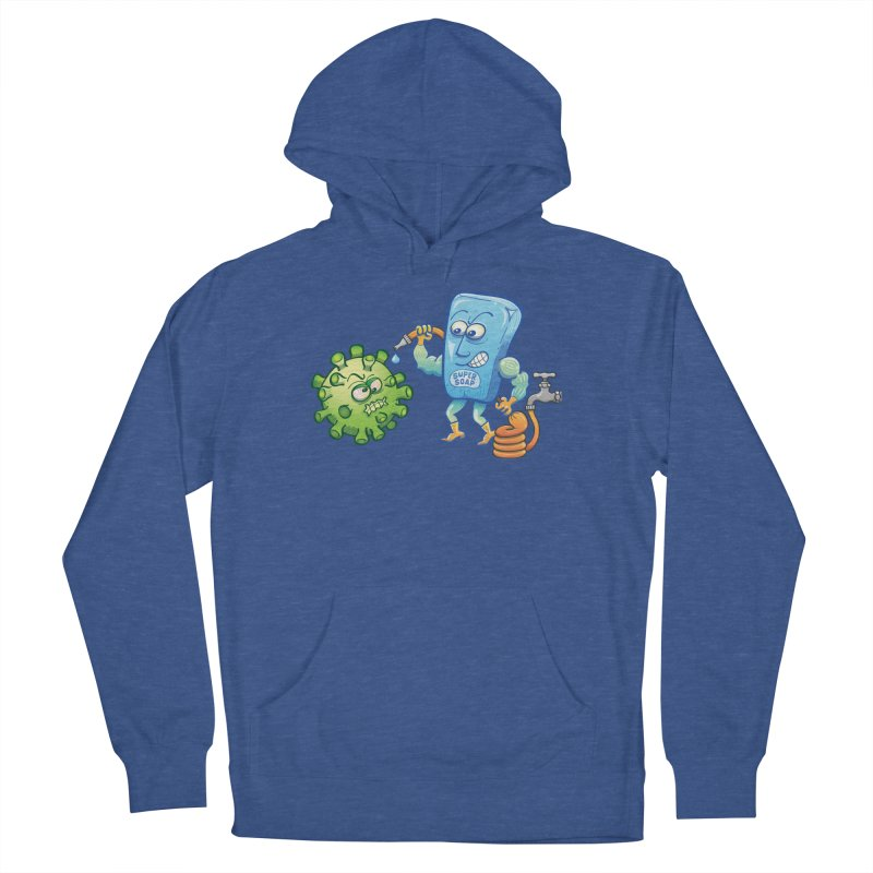 Soap and water are still the best way to fight coronavirus. Wash your hands! Women's Pullover Hoody by Zoo&co's Artist Shop