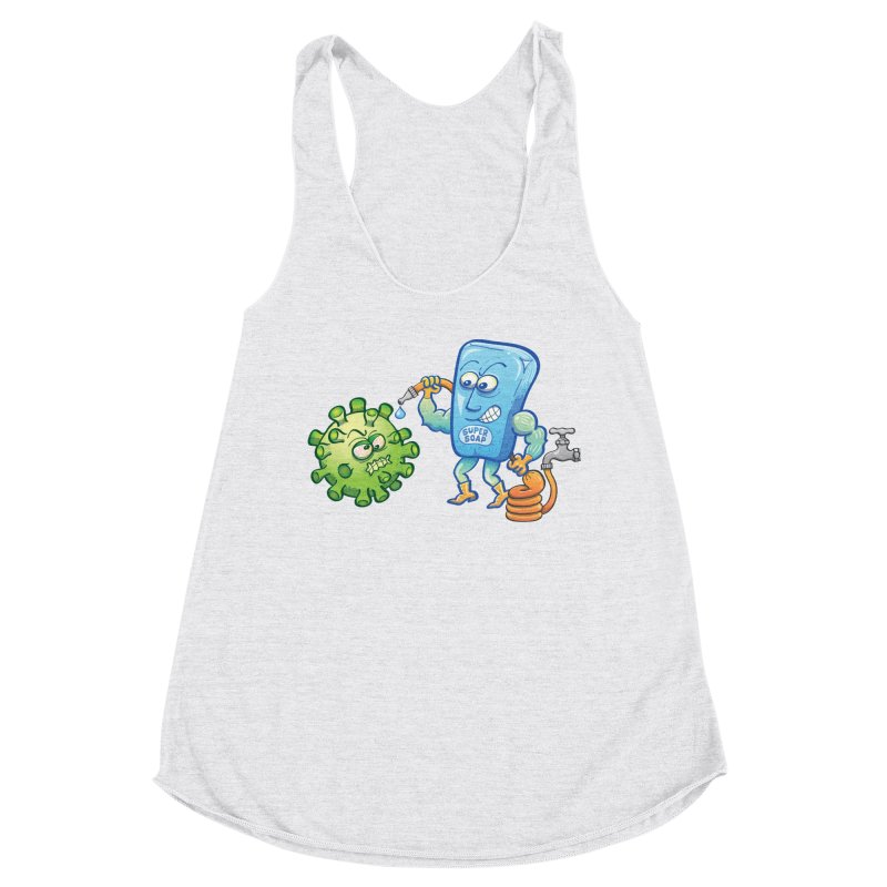 Soap and water are still the best way to fight coronavirus. Wash your hands! Women's Tank by Zoo&co's Artist Shop