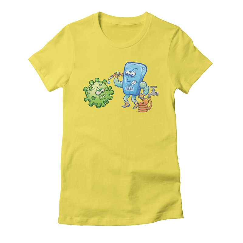Soap and water are still the best way to fight coronavirus. Wash your hands! Women's T-Shirt by Zoo&co's Artist Shop