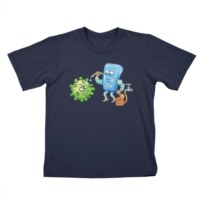 Soap and water are still the best way to fight coronavirus. Wash your hands! Kids T-Shirt by Zoo&co's Artist Shop