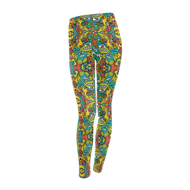 Mutant creatures from the last doodle art experiment in the lab Women's Bottoms by Zoo&co's Artist Shop