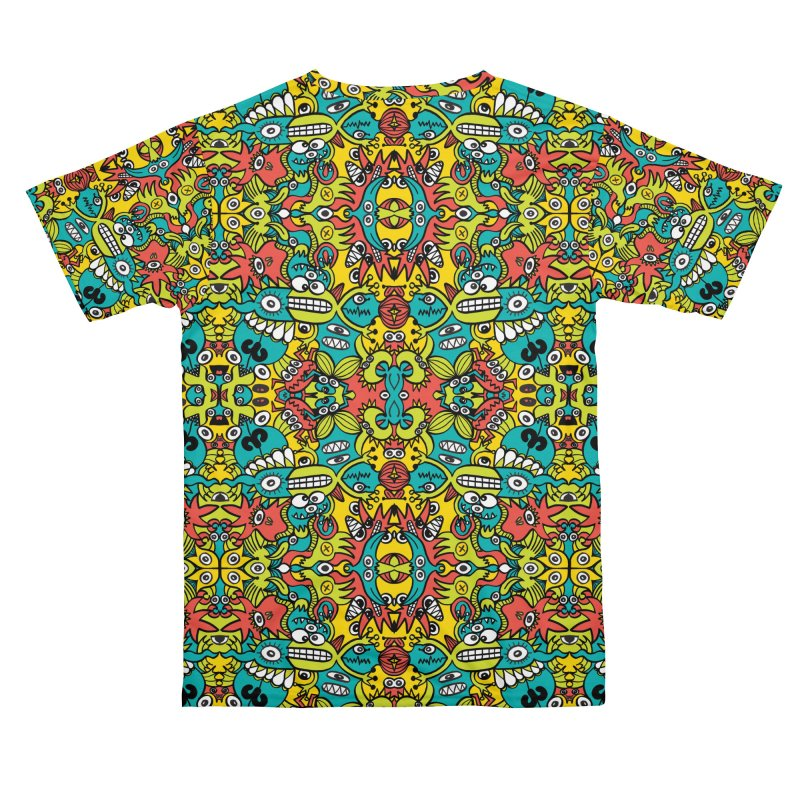 Mutant creatures from the last doodle art experiment in the lab Men's Cut & Sew by Zoo&co's Artist Shop