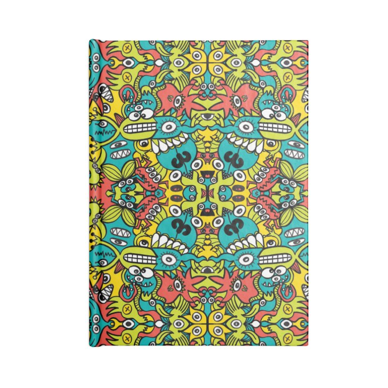 Mutant creatures from the last doodle art experiment in the lab Accessories Notebook by Zoo&co's Artist Shop