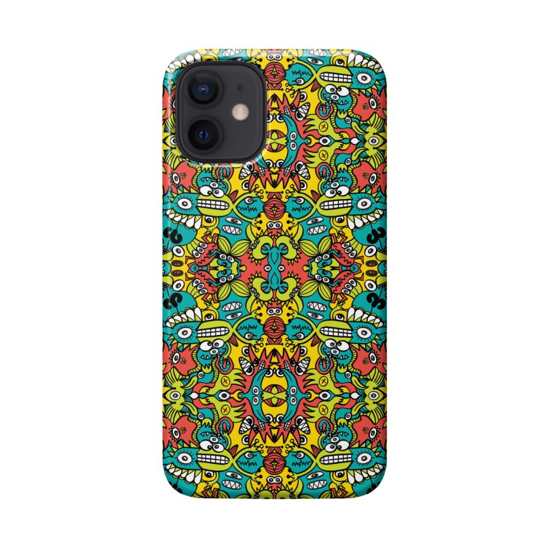 Mutant creatures from the last doodle art experiment in the lab Accessories Phone Case by Zoo&co's Artist Shop