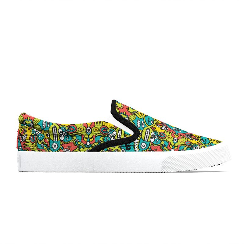 Mutant creatures from the last doodle art experiment in the lab Women's Shoes by Zoo&co's Artist Shop