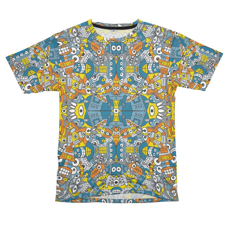 Retro robots are back and just want to have as much fun as possible Women's Cut & Sew by Zoo&co's Artist Shop