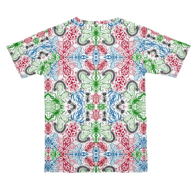 Funny bugs going for a beautiful choreography pattern design Women's Cut & Sew by Zoo&co's Artist Shop