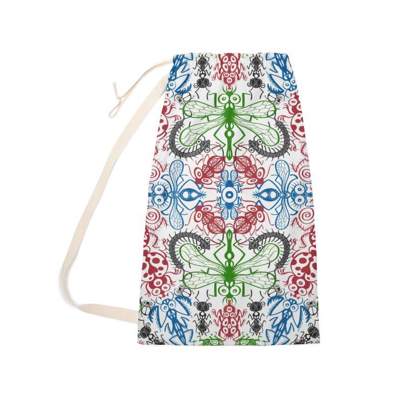 Funny bugs going for a beautiful choreography pattern design Accessories Bag by Zoo&co's Artist Shop