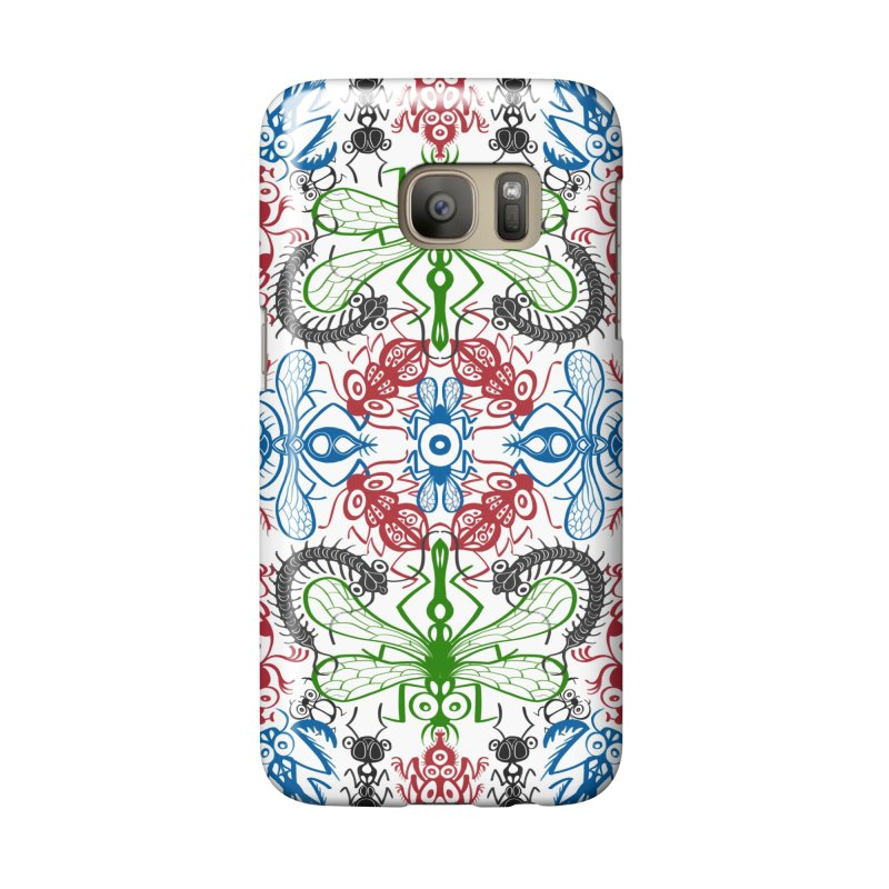 Funny bugs going for a beautiful choreography pattern design Accessories Phone Case by Zoo&co's Artist Shop