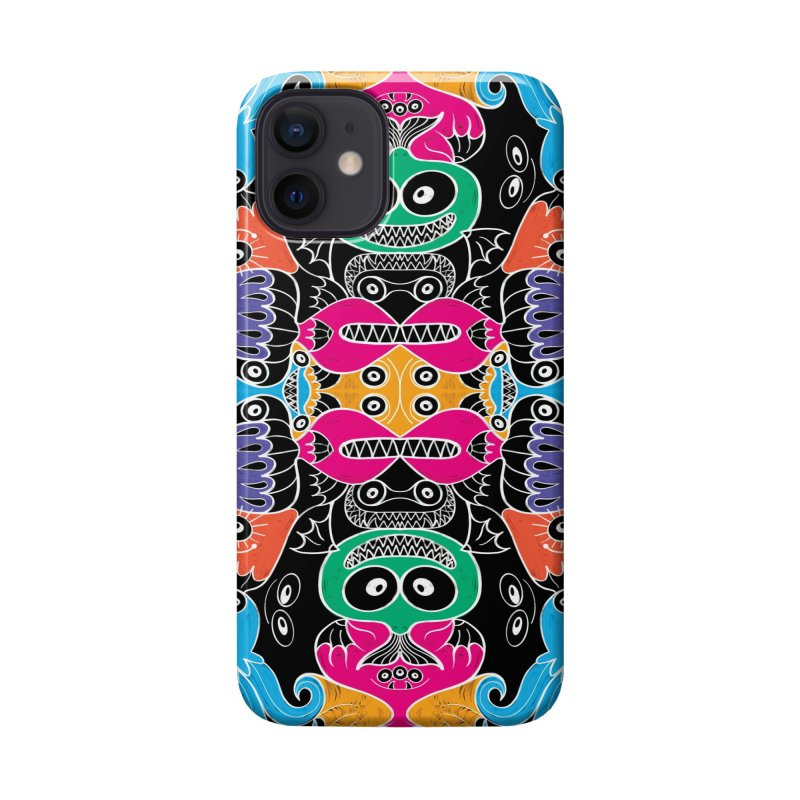 Glowing sea creatures smiling mischievously Accessories Phone Case by Zoo&co's Artist Shop