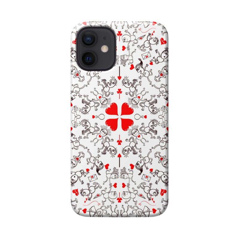 Multiple facets of love in a single funny pattern design Accessories Phone Case by Zoo&co's Artist Shop