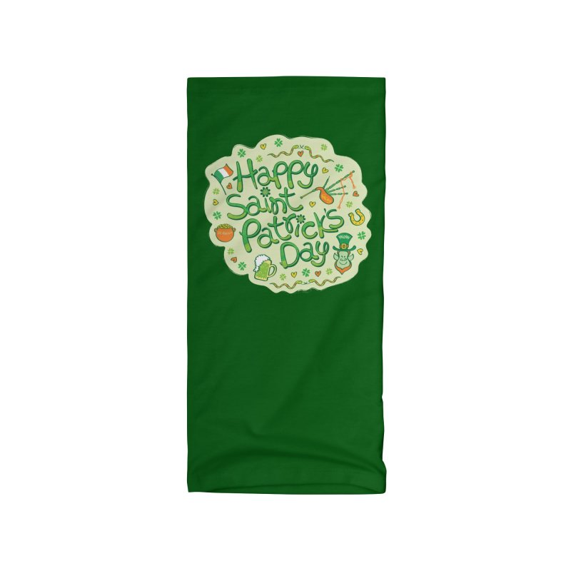 Celebrate Saint Patrick's Day in big style! Accessories Neck Gaiter by Zoo&co's Artist Shop