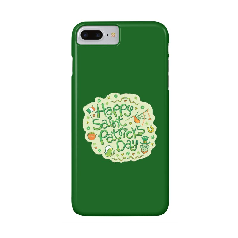 Celebrate Saint Patrick's Day in big style! Accessories Phone Case by Zoo&co's Artist Shop