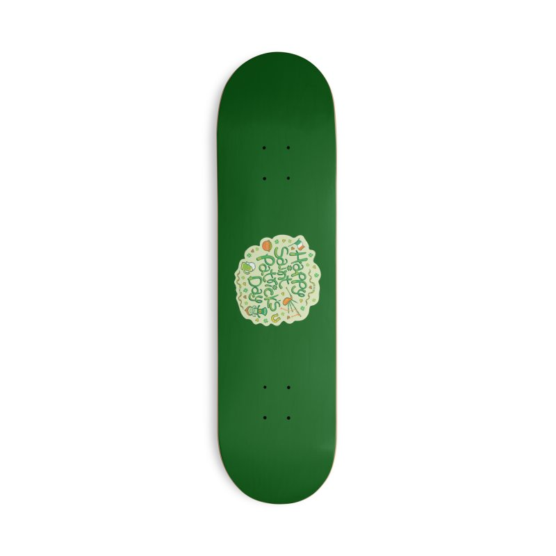 Celebrate Saint Patrick's Day in big style! Accessories Skateboard by Zoo&co's Artist Shop