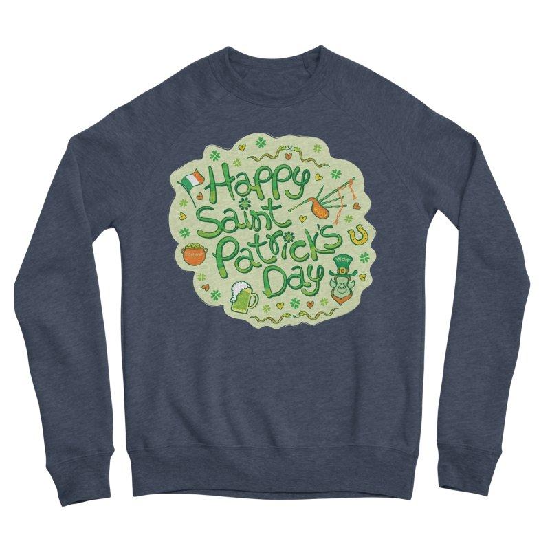 Celebrate Saint Patrick's Day in big style! Women's Sweatshirt by Zoo&co's Artist Shop