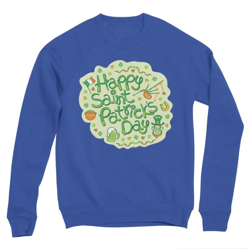 Celebrate Saint Patrick's Day in big style! Men's Sweatshirt by Zoo&co's Artist Shop