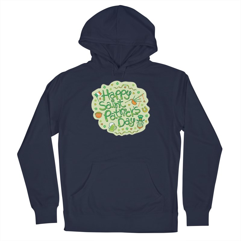 Celebrate Saint Patrick's Day in big style! Men's Pullover Hoody by Zoo&co's Artist Shop