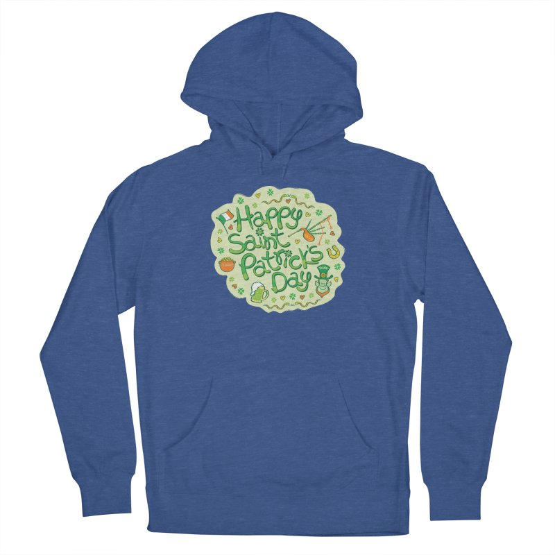 Celebrate Saint Patrick's Day in big style! Women's Pullover Hoody by Zoo&co's Artist Shop