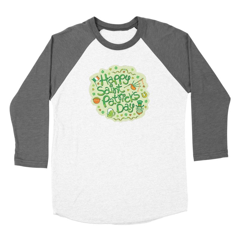 Celebrate Saint Patrick's Day in big style! Women's Longsleeve T-Shirt by Zoo&co's Artist Shop