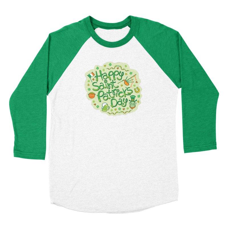 Celebrate Saint Patrick's Day in big style! Women's Longsleeve T-Shirt by Zoo&co's Artist Shop