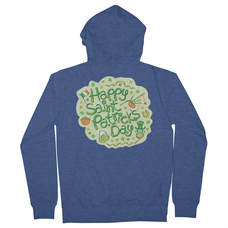 Celebrate Saint Patrick's Day in big style! Women's Zip-Up Hoody by Zoo&co's Artist Shop