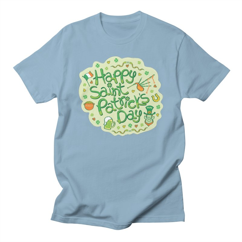 Celebrate Saint Patrick's Day in big style! Women's T-Shirt by Zoo&co's Artist Shop