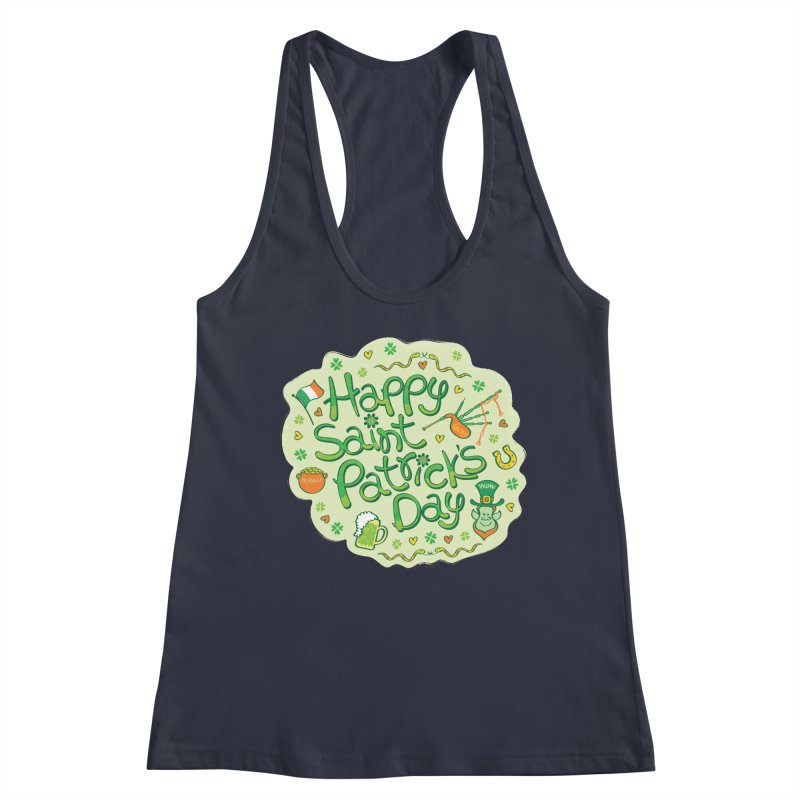 Celebrate Saint Patrick's Day in big style! Women's Tank by Zoo&co's Artist Shop