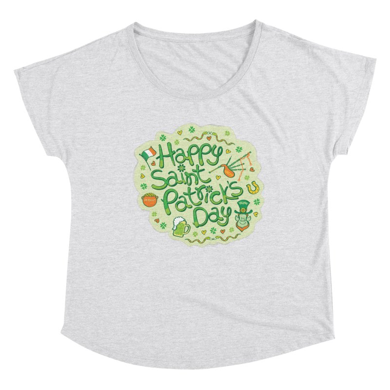 Celebrate Saint Patrick's Day in big style! Women's Scoop Neck by Zoo&co's Artist Shop