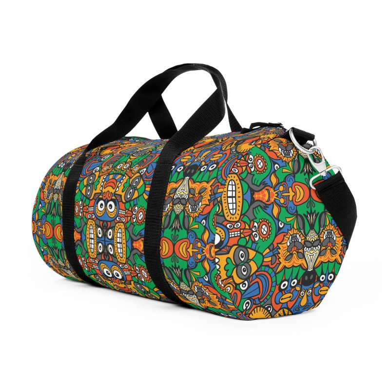 All African fantasy in a single pattern design Accessories Bag by Zoo&co's Artist Shop