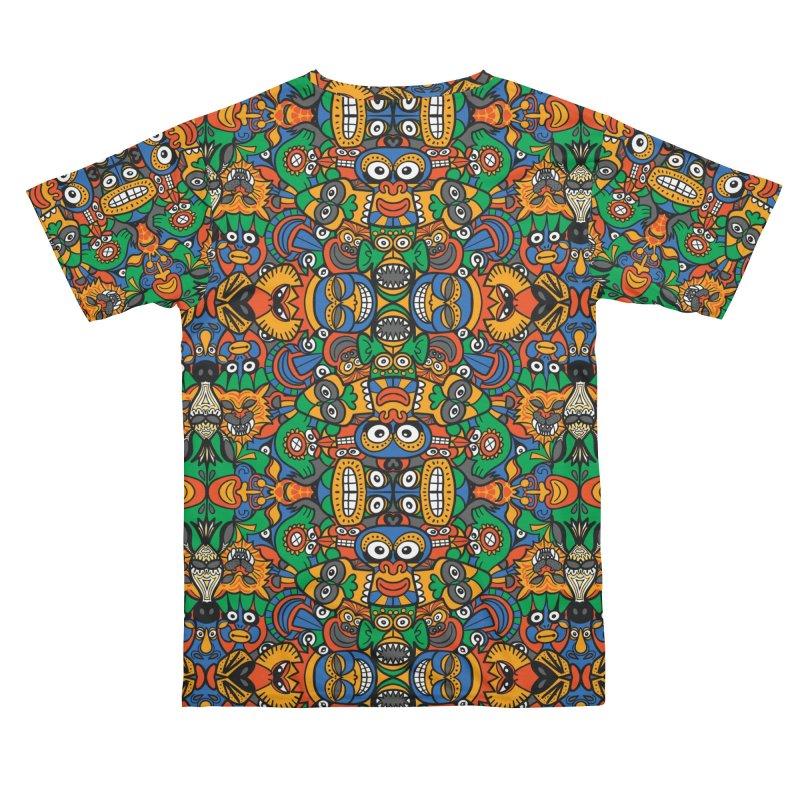All African fantasy in a single pattern design Women's Cut & Sew by Zoo&co's Artist Shop