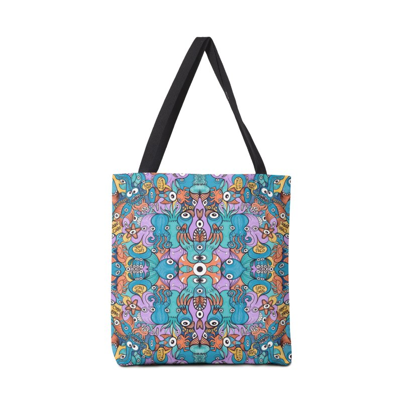 Let's move, it's time to save our oceans Accessories Bag by Zoo&co's Artist Shop