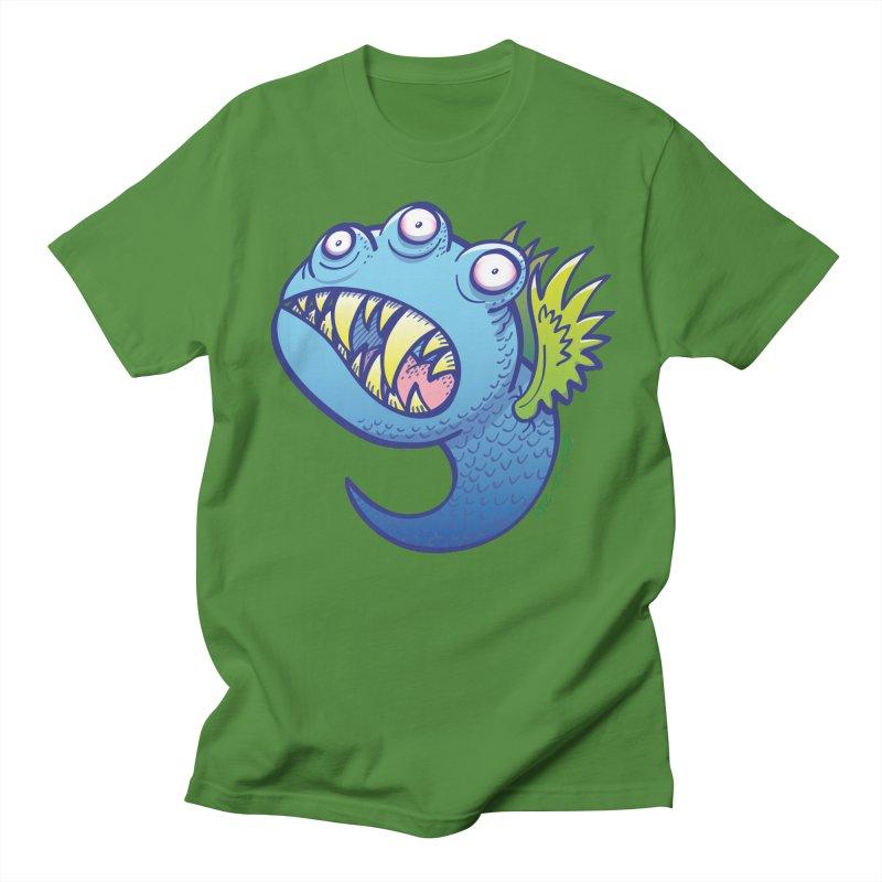 Terrific little winged blue monster Men's T-Shirt by Zoo&co's Artist Shop