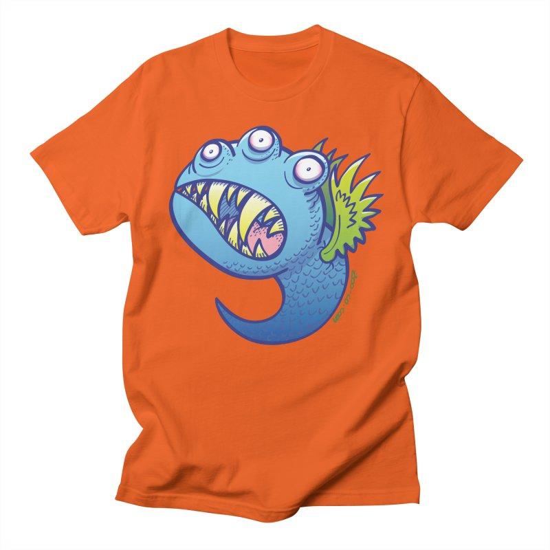 Terrific little winged blue monster Women's Unisex T-Shirt by Zoo&co's Artist Shop