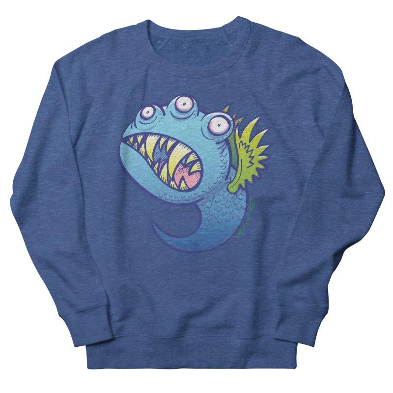 Terrific little winged blue monster Women's Sweatshirt by Zoo&co's Artist Shop