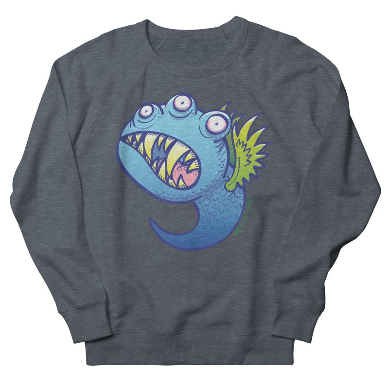 Terrific little winged blue monster Women's Sweatshirt by Zoo&co's Artist Shop