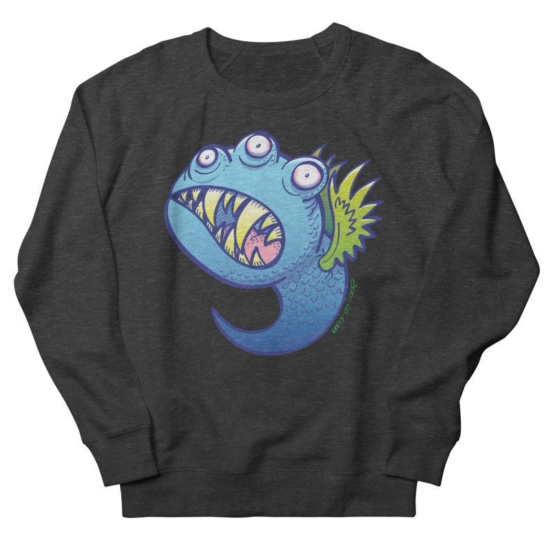 Terrific little winged blue monster Men's Sweatshirt by Zoo&co's Artist Shop