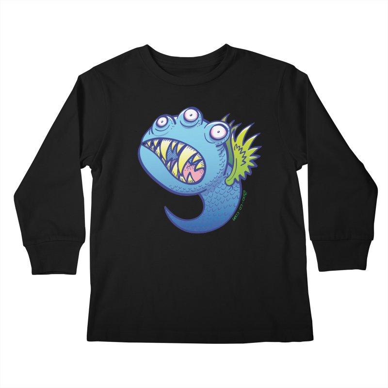 Terrific little winged blue monster   by Zoo&co's Artist Shop