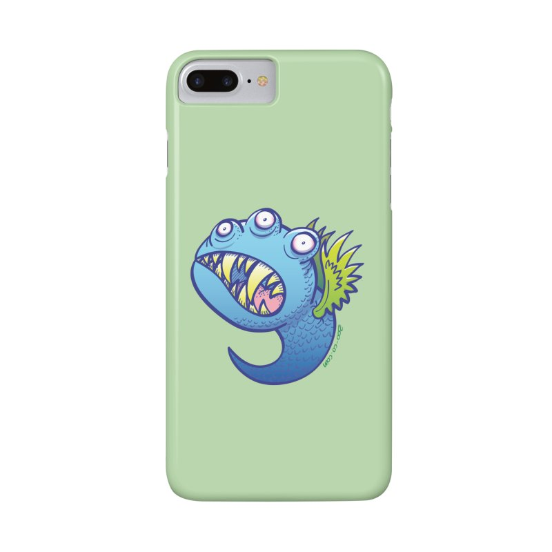 Terrific little winged blue monster Accessories Phone Case by Zoo&co's Artist Shop