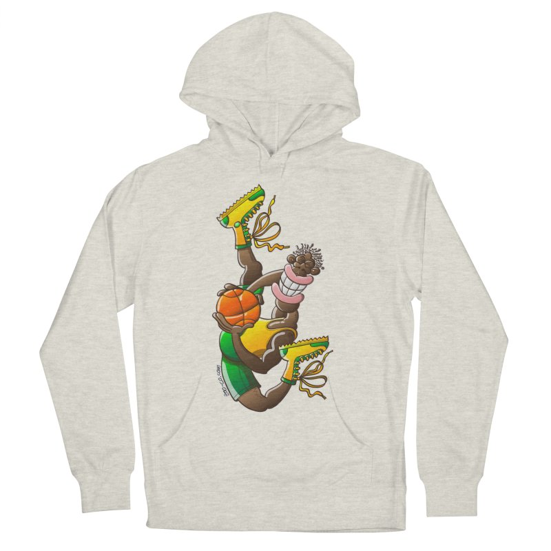 Amazing basketball Women's Pullover Hoody by Zoo&co's Artist Shop