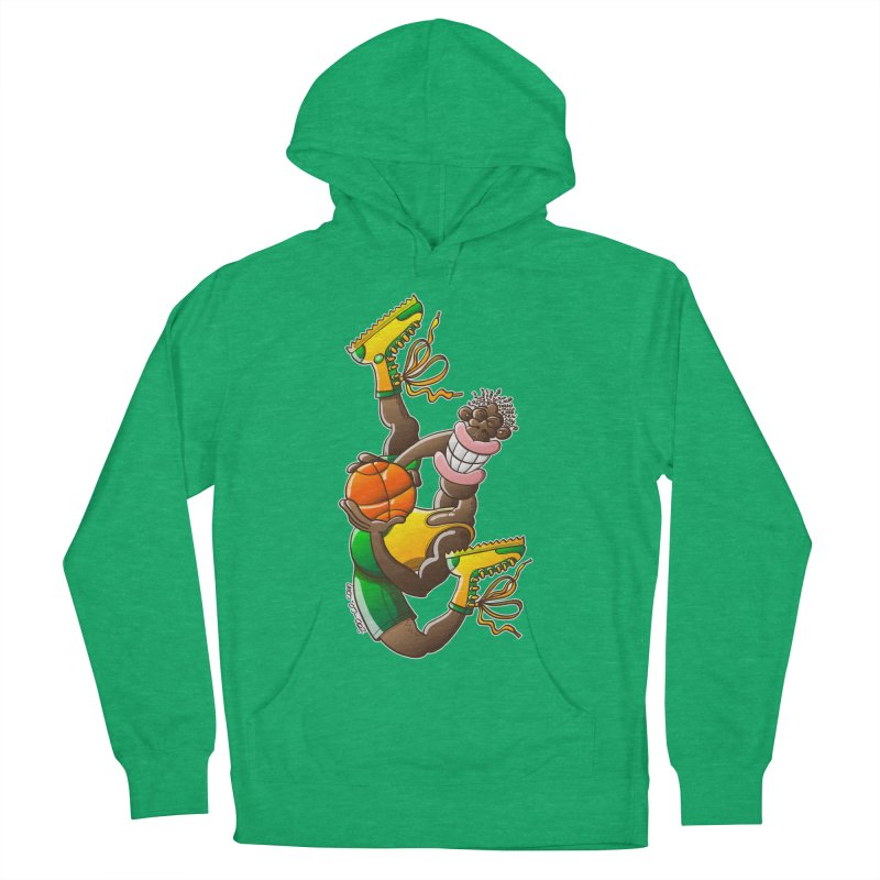 Amazing basketball Men's Pullover Hoody by Zoo&co's Artist Shop