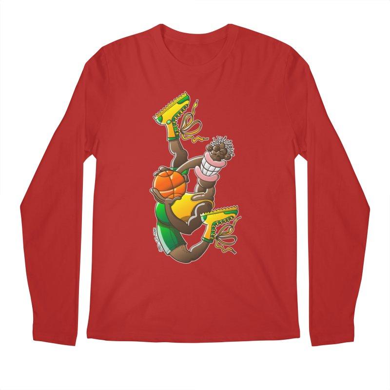Amazing basketball Men's Longsleeve T-Shirt by Zoo&co's Artist Shop