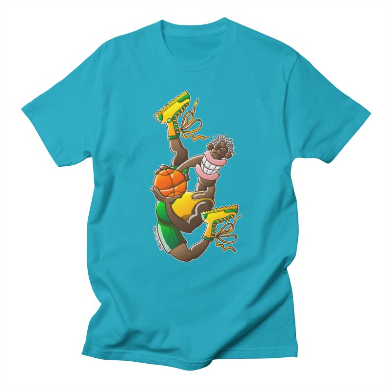 Amazing basketball Men's T-shirt by Zoo&co's Artist Shop