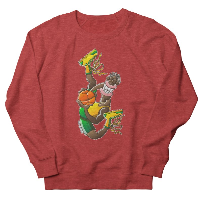 Amazing basketball Women's Sweatshirt by Zoo&co's Artist Shop