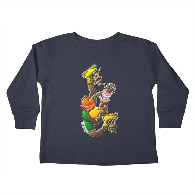 Amazing basketball Kids Toddler Longsleeve T-Shirt by Zoo&co's Artist Shop