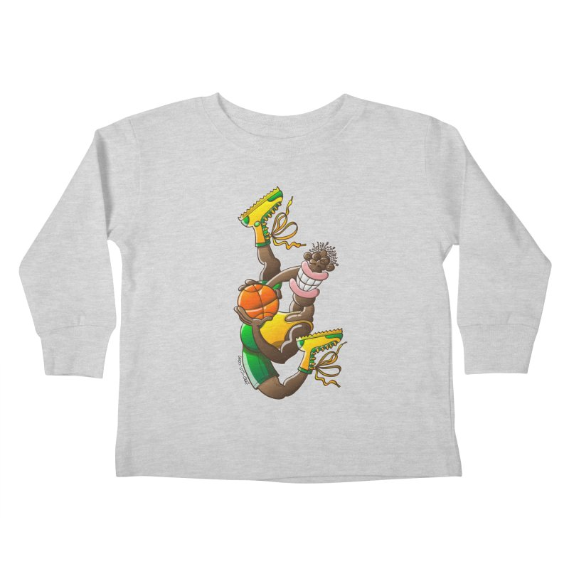 Amazing basketball Kids Toddler Longsleeve T-Shirt by Zoo&co's Artist Shop
