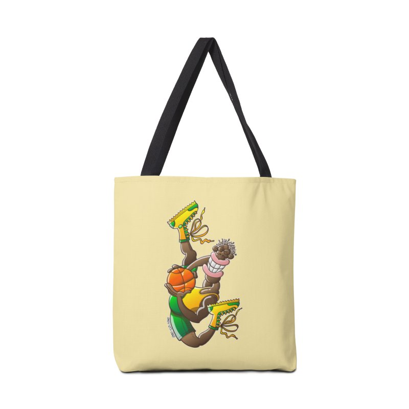 Amazing basketball Accessories Bag by Zoo&co's Artist Shop
