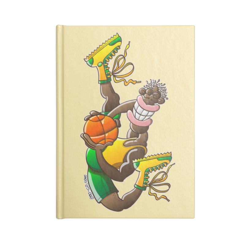 Amazing basketball Accessories Notebook by Zoo&co's Artist Shop