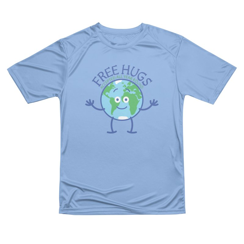 Planet Earth accepts free hugs all year round Men's T-Shirt by Zoo&co's Artist Shop