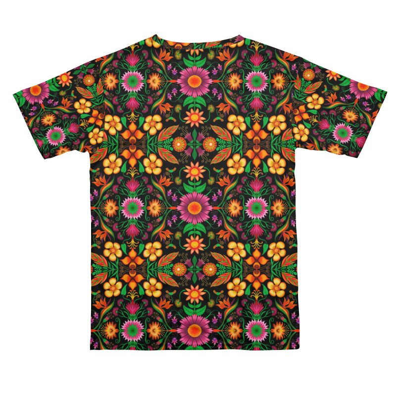 Thousands of wildflowers explode in a mesmerizing pattern of color Men's Cut & Sew by Zoo&co's Artist Shop