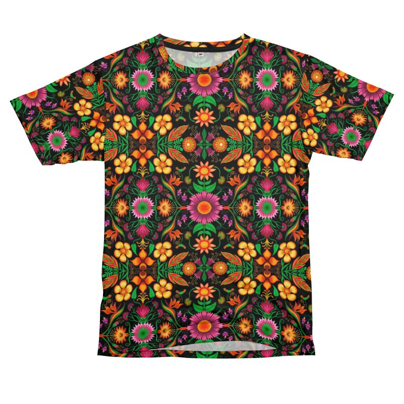 Thousands of wildflowers explode in a mesmerizing pattern of color Women's Cut & Sew by Zoo&co's Artist Shop